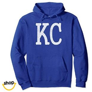 Kc pullover hoodies sweatshirt for outfit for Woman for Female or baby girl gift in royal blue