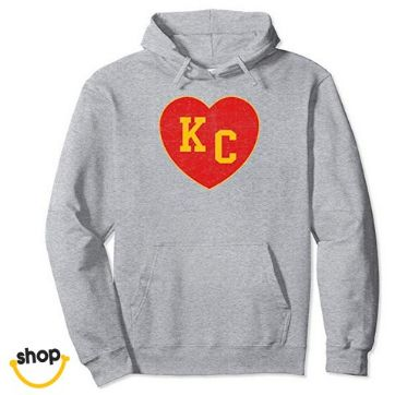 Kansas city pullover hoodies sweatshirts garment for ladies gifts or womens fashion in red/yellow