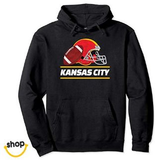 Girls' Kansas city Pullover Hoodie sweatshirts pro wear clothing–Color: Red / white