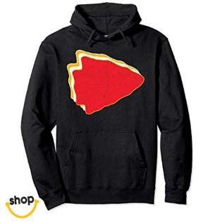 Kansas City Pullover hoodies sweatshirt for lady, schoolgirls, young ladies or teen in red/yellow
