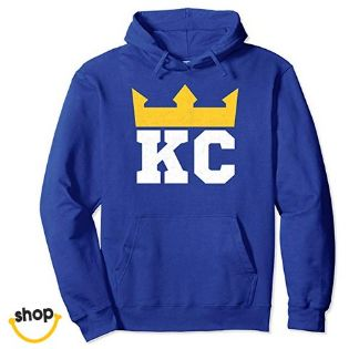 Womens Kc hoodie hoodie sweatshirts team clothing for Girls college girls, youth kids or teenagers – color: royal blue