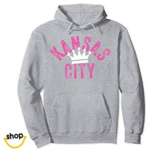 Lady's Kc pullover hoodie sweatshirt apparel for Her – color: