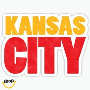 Collectable Kansas Citian bumper decal sticky label