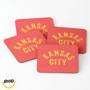KC drink coaster