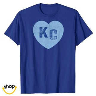 KC apparel for Girl gift or fashion in royal blue / yellow / white