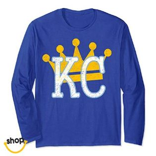 Kansas City royal blue Pro KC gear with a local royal look for a new unique KC style