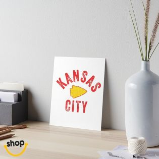 Souvenir Gift Kansas Citian for wall, school or home office