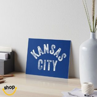 Collectable Kansas Citian for wall, school or home office