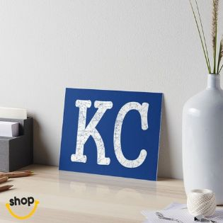 Kansas City artboard artboard for wall, school or home office