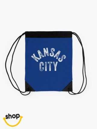 Team Pro Gear Kansas Citian string tie carrier sack luggage gear