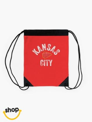 Pro Memorabilia Kansas Citian string tie carrier sack luggage gear