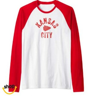 KC Long-sleeve Tee wearables for Females' gift or ladies fashion in red/yellow/white